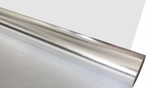 Fire Resistant Aluminum Foil Fiberglass Cloth Laminate